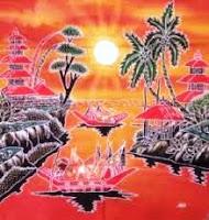 Batik Lukis sebagai penjelasan dari pengertian seni kriya