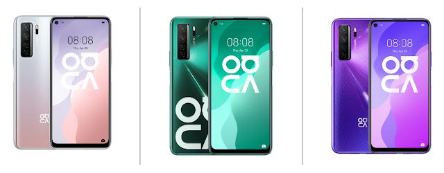 Huawei Nova 7 SE 5G Colors