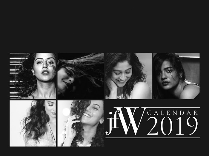 South Star Actress Featuring jfW Calendar 2019 Photoshoot