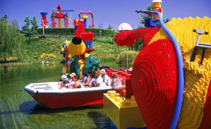 Parque Legoland em San Diego na Califórnia