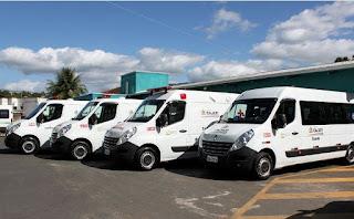 Novas ambulâncias já estão disponíveis para atendimento em Cajati