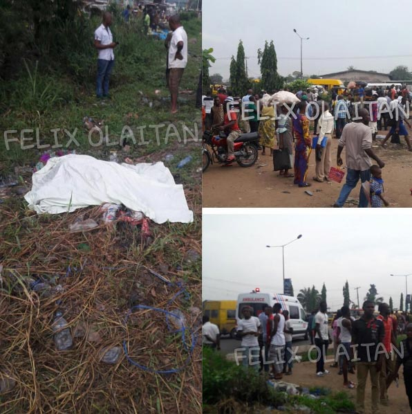"""Train crushes woman who came for """"omugwo"""" to death in Lagos"""