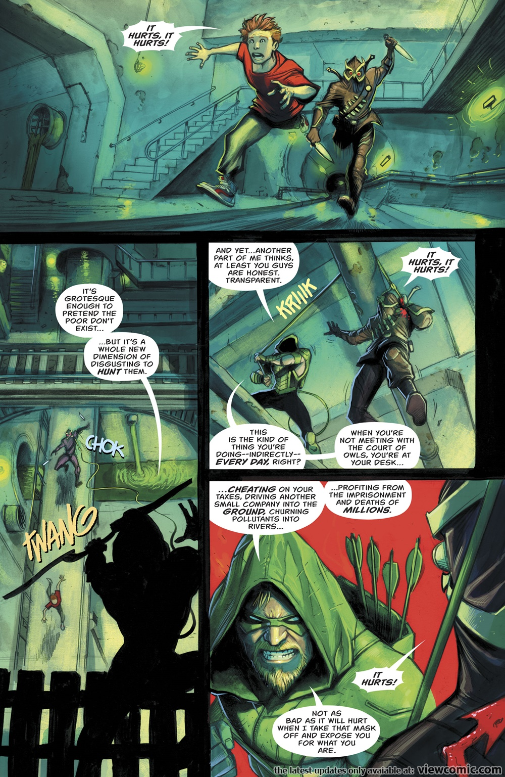 Green Arrow v7 029 (2017)  | Vietcomic.net reading comics online for free