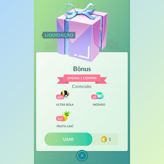 Bônus Pokémon GO