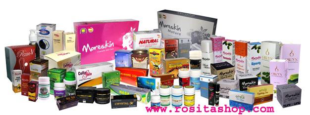 Jual Produk Kecantikan dan Kesehatan Rositashop