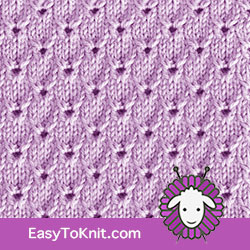 #Knitting: English Embroidery stitch. FREE Knitting Pattern.  #easytoknit #knitting