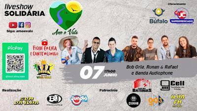 Live Solidária Amoovale - Show de vários artistas do Vale do Ribeira em prol das famílias necessitadas