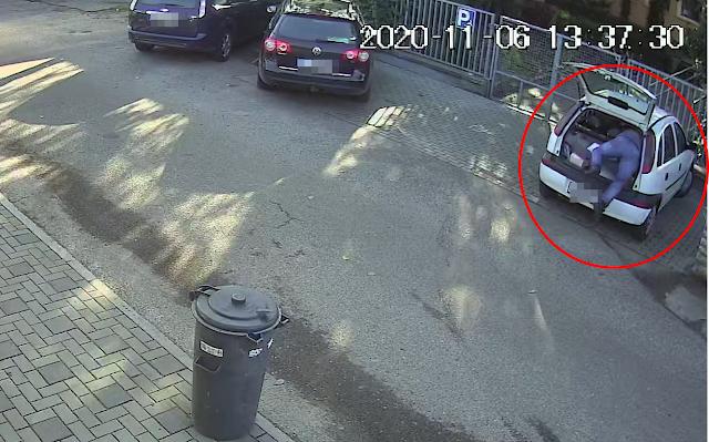 Így fosztotta ki a kiskunhalasi autókat egy nagyon profi tolvaj - Videó!