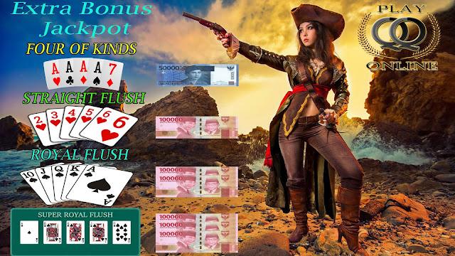 Bonus Jackpot Tambahan Texas Poker