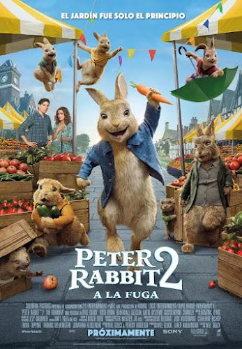 Peter Rabbit 2: The Runaway (BRRip 1080p Español Latino) (2021)