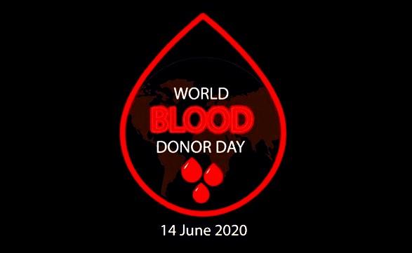 world blood donation day 2020 theme
