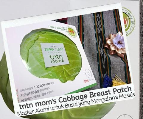 tntn mom's Cabbage Breast Patch: Masker Alami untuk Busui yang Mengalami Masitis