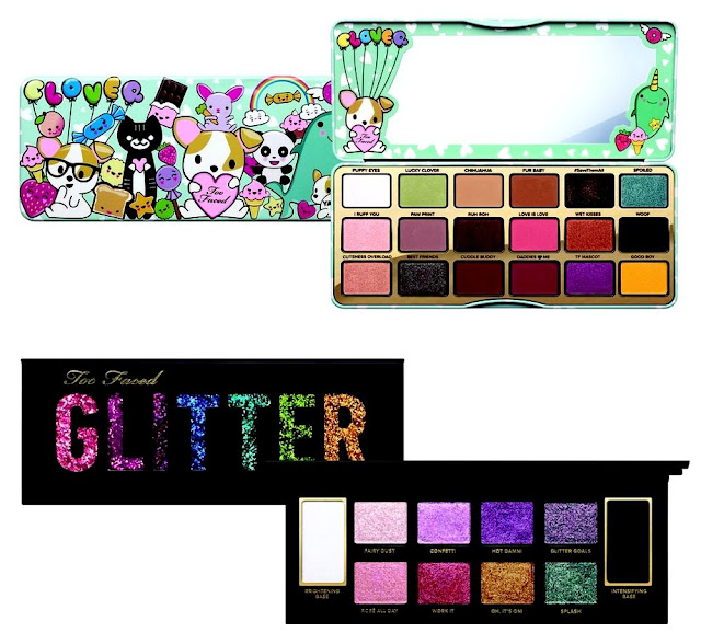 Palette Clover a girl's best friend - Glitter bomb eye shadow - Too Faced - Blog