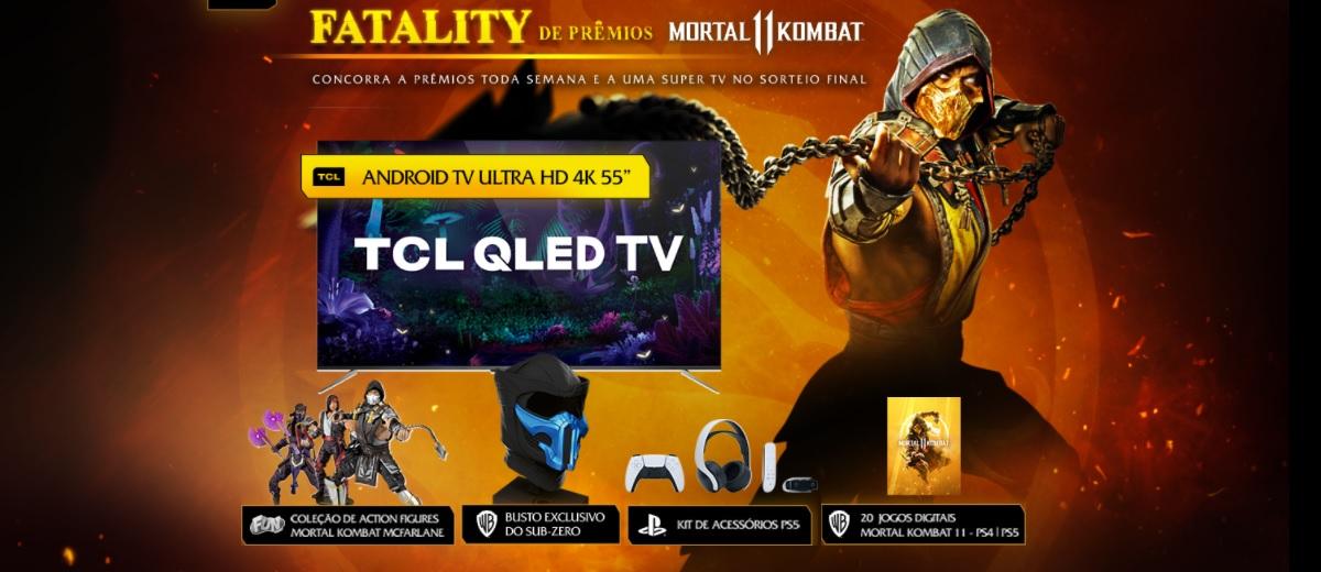 Participar Promoção Fatality de Prêmios Warner Play