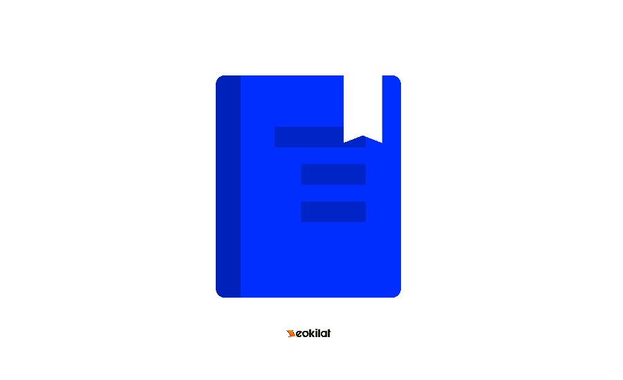 Flat Icon Book PNG