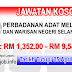 Job Vacancy at PADAT - Perbadanan Adat Melayu Dan Warisan Negeri Selangor
