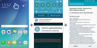 samsung tablet nasıl güncellenir?