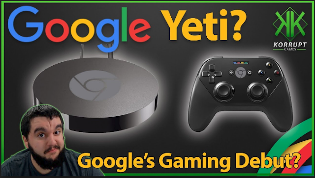 "Google Set To Introduce "" Yeti "" It's Gaming Platform"