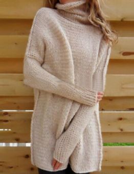 Women's Oversized Thick Sweater Dress