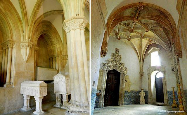 Panteão dos Reis e Sacristia Medieval do Mosteiro de Alcobaça, Portugal
