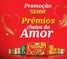 Cadastrar Promoção Sazón 2019 Prêmios Cheios de Amor - Compre Ganhe Experiência