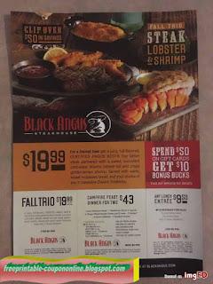 Free Printable Black Angus Steakhouse Coupons
