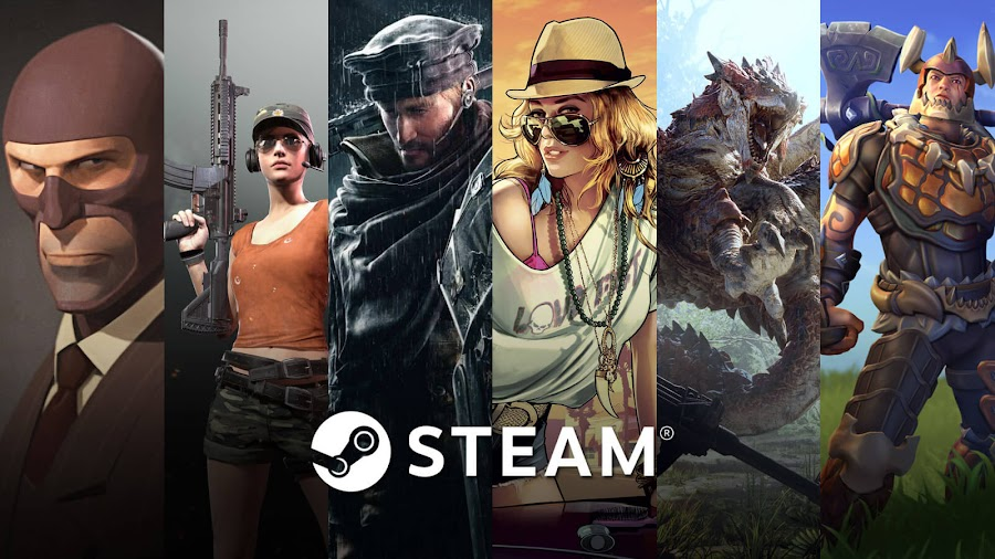 most played games 2018 steam team fortress 2 playerunknown's battlegrounds rainbow six siege grand theft auto v monster hunter: world realm royale