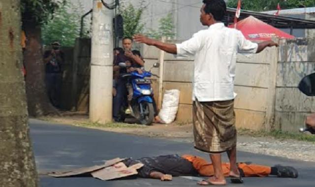 Nasib Pilu Kembali Dialami Pasukan Orange, di Cipayung Anggota PPSU Tewas Terlindas Truk