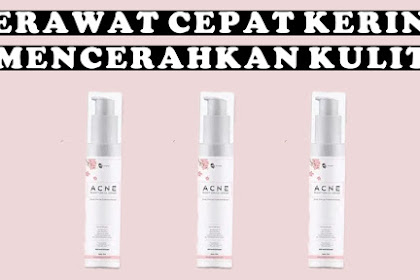 Review MS Glow Acne Serum