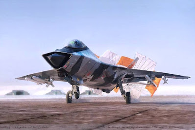 Russia sixth generation MiG41 fighter