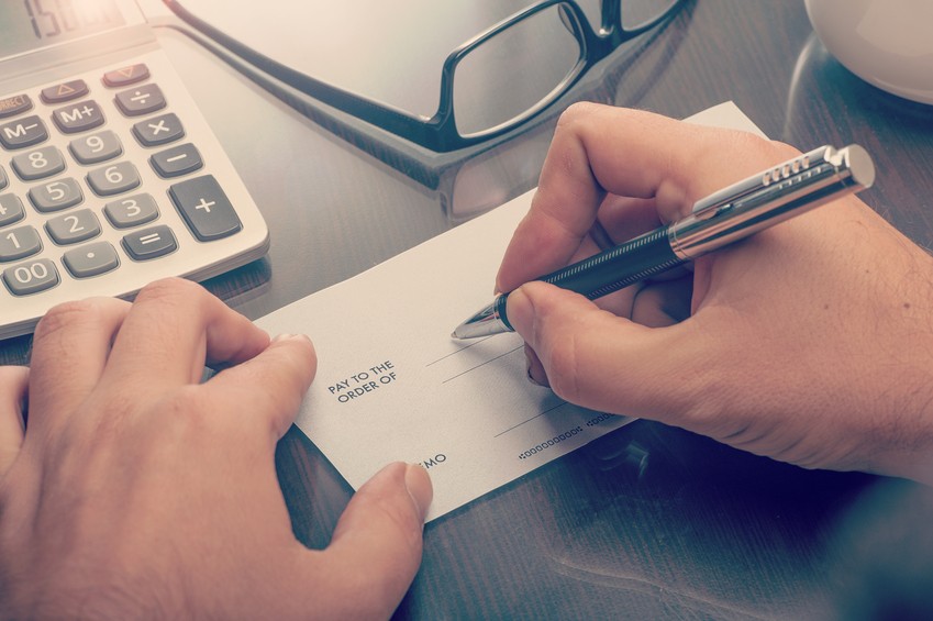 Forensic Document Check Cheque