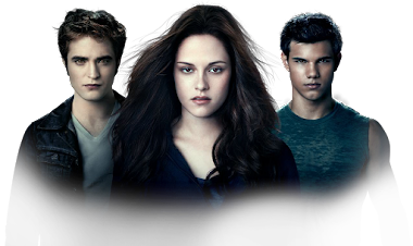 Jacob, Bella y Edward