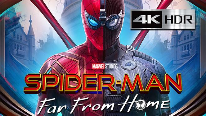 Spider-Man: Lejos De Casa (2019) IMAX Web-DL 4K UHD [HDR] Latino-Castellano-Ingles
