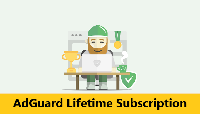 Adguard AdBlocker lifetime license Block Ads