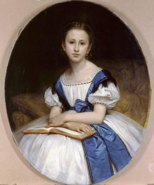 Адольф Вильям Бугро - Портрет мадемуазель Бриссак (1863)