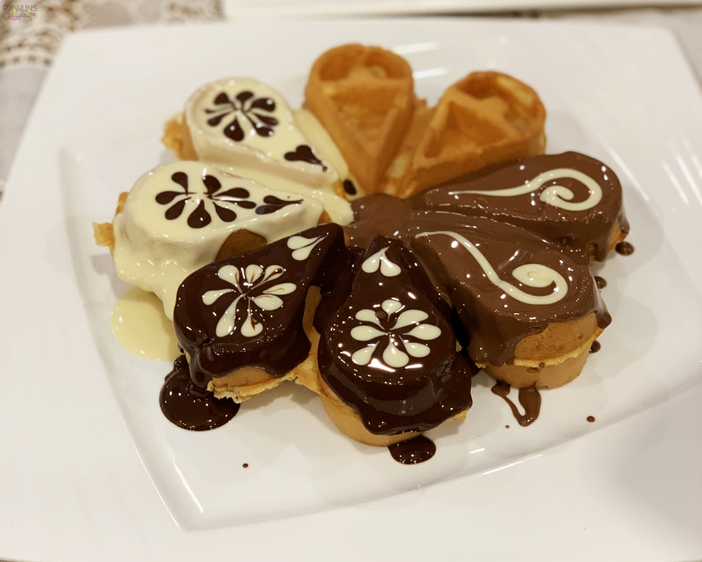 Belgishé Chocolatier, The Butterfly Project, Rawlins GLAM, Rawlins Eats, The best dessert in Kuala Lumpur, affordable dessert, French Fries Churros, Chocolate Sushi Crepe, Tammy Lim