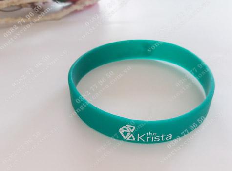 Mẫu vòng tay cao su Krista