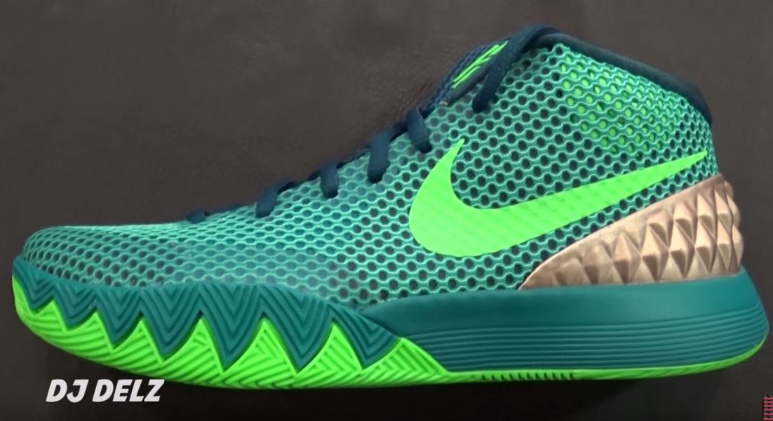 new product 8037b c5a30 Nike Kyrie Irving 1  Australia  Shoe Available (Detailed Look With Dj Delz)