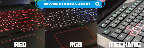 Keyboar ROG ASUS #wearerog