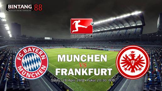 Prediksi Bayern Munchen Vs Eintracht Frankfurt 28 April 2018