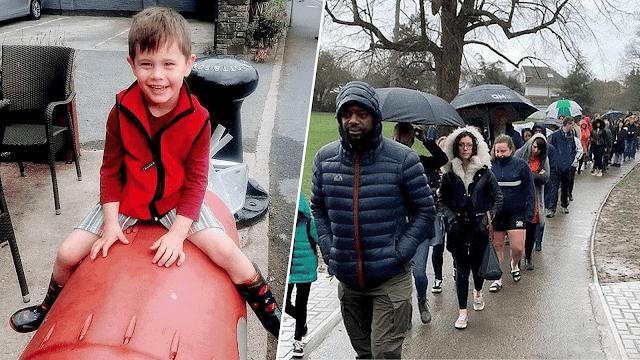 5000 человек часами стояли под дождём, чтобы стать донорами для больного малыша