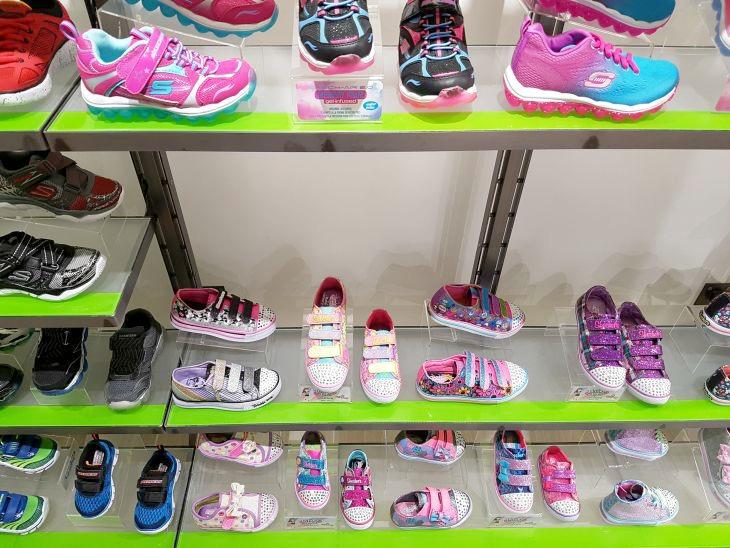 baskets petite fille de skechers