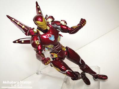 S.H.Figuarts Iron Man Mk 50 Nano Weapon Set 2 de Avengers: Infinity War - Tamashii Nations