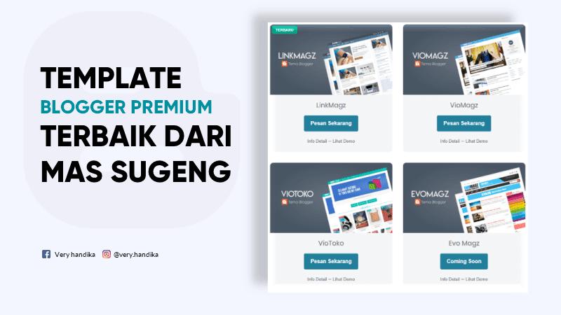 template blog mas sugeng gratis dan premium