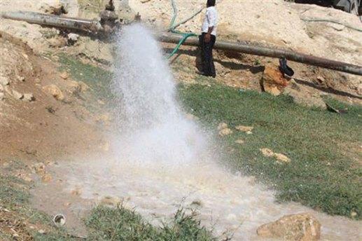 اعتداءات على خطوط مياه الشرب الواصلة من آبار خازمة لقرى صلخد بالسويداء