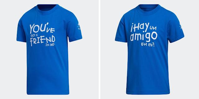 Adidas Toy Story Hay un Amigo en Mi and You've Got a Friend in Me T-Shirts