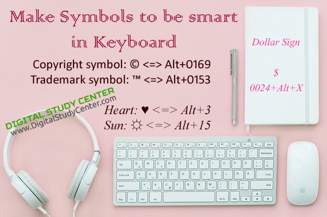 Make Symbols with Keyboard