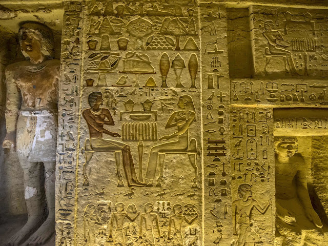 Egyptian archaeologists unearth tomb of ancient high priest