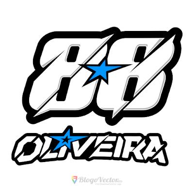 Miguel Oliveira #88 Logo Vector