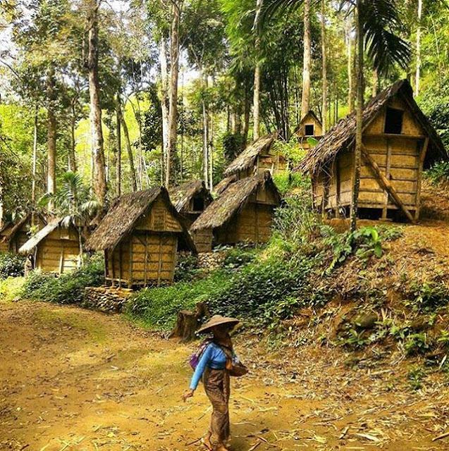 foto desa baduy dalam banten